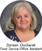 Doreen Oucharek/Food Service Office Assistant